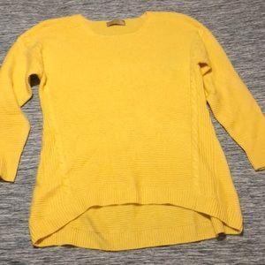 kaishun Sweaters - Yellow oversized sweater S